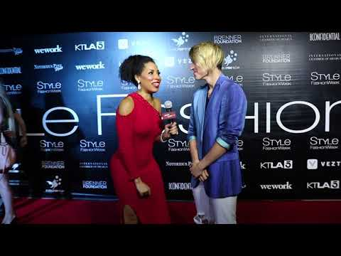 John Klaasen Interviews with Jackie Elam Live at Style Fashion Week