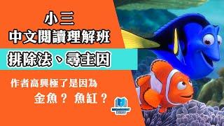 Publication Date: 2020-05-16 | Video Title: 【小三閱讀理解】排除法/尋主因