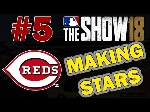 MAKING STARS | DRAFT ONLY CHALLENGE EPISODE 5 | CINCINNATI REDS MLB 18 FRANCHISE