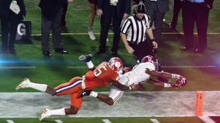 Repeat youtube video 2016 National Championship Full Highlights || Alabama vs. Clemson