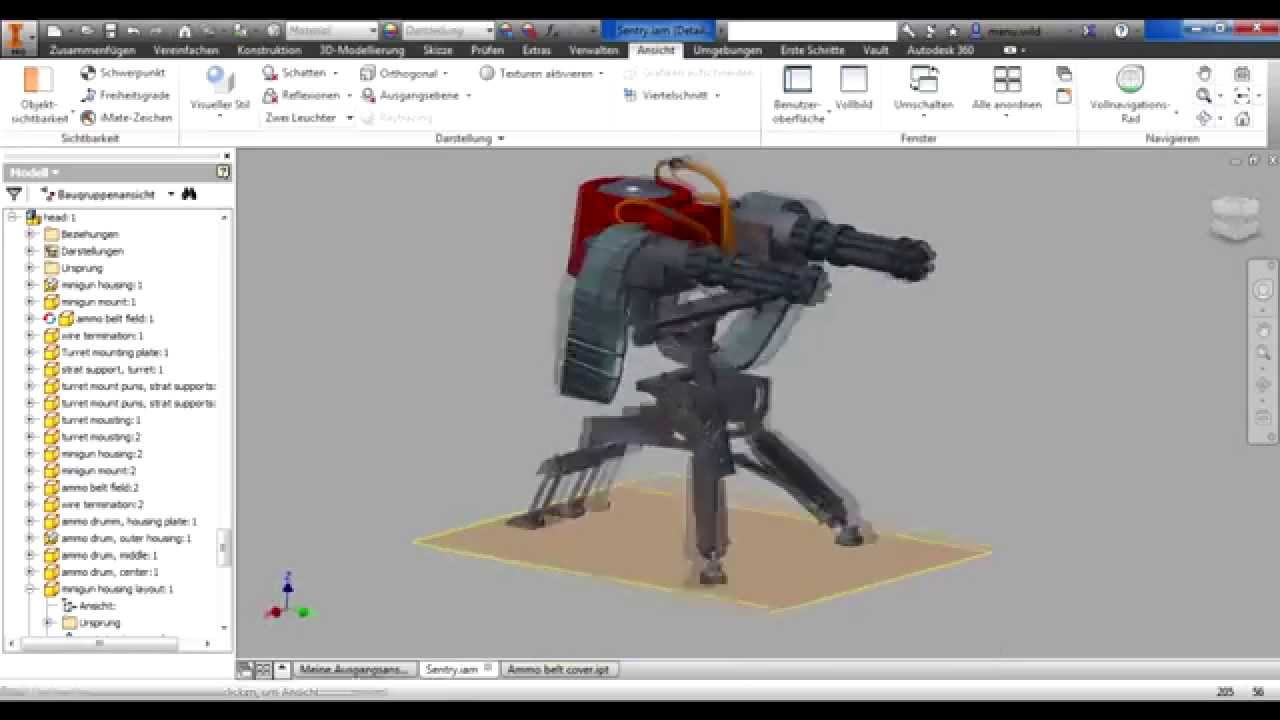 Buildin a sentry tf2 sentry gun level 2 blueprints youtube malvernweather Gallery