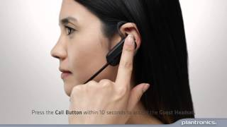 How to conference in a guest headset to a Plantronics CS500 base