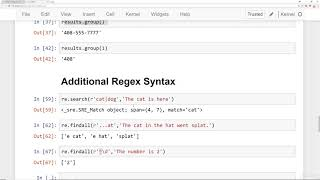 072 Regular Expressions   Part Three