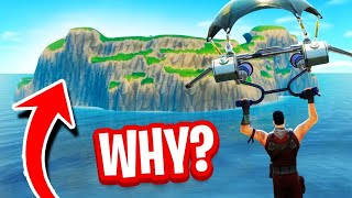 The Reason You Can't Go To SPAWN ISLAND in Fortnite!