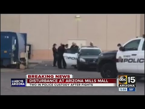 Police situation at Arizona Mills Mall, similar reports across U.S.