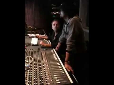 Sonu Nigam recording in Hollywood
