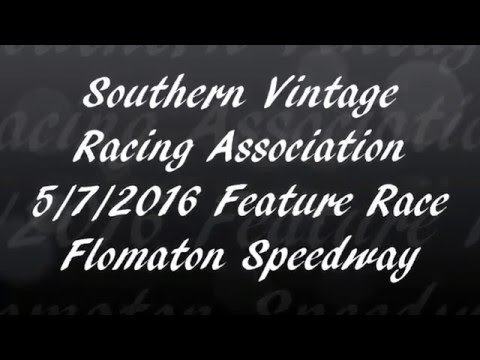 Southern Vintage Racing Association Feature Race 5/7/16 Flomaton Speedway