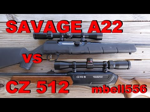CZ 512 vs Savage A22 22 Magnum: Field Test and Comparison-Accuracy, Reliability & Features