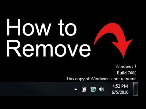 genuine remover win 7 crack