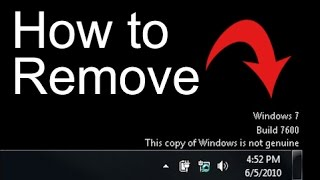 How to Remove Windows 7 build 7601 this copy of windows is not genuine (Easy FIX)