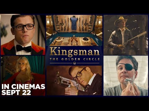 KINGSMAN: THE GOLDEN CIRCLE Kentucky Derby Promo from YouTube · Duration:  53 seconds
