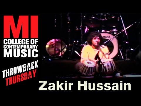 Zakir Hussain Throwback Thursday From the MI Vault