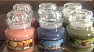 Yankee Candle-spring 2015-peach Cobbler, Blue Summer Sky, Picnic In The Park