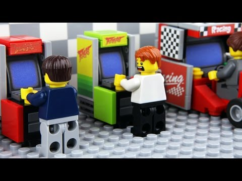 Generate Lego Arcade Game Screenshots