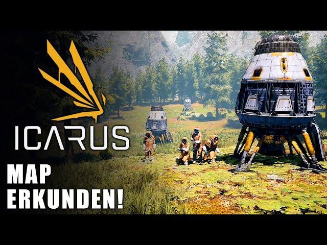 Icarus 🌿 Map erkunden Teil 1 #05 [Lets Play   Gameplay Deutsch]