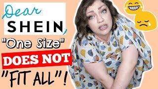 SHEIN: Quality or CRAP!? | Plus Size Try-On Haul & Brand Review