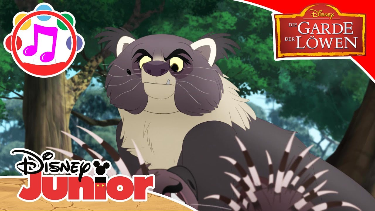 Die Garde der Löwen - ♫ Legt euch nicht an mit Mama ♫ Disney Junior Musik