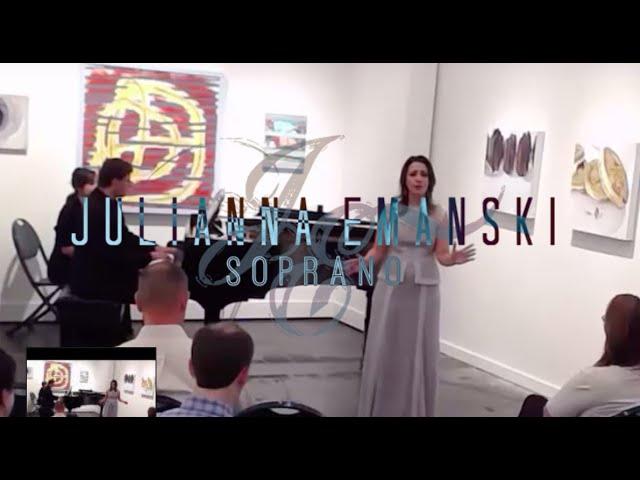 Großmätige Prinzessin, Zerbinetta's aria,  Ariadne auf Naxos, Strauss - Julianna Emanski, soprano