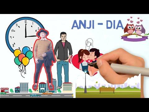 Video Klip Animasi Romantis Lagu Anji - Dia