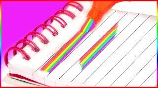 dIY: КАК СДЕЛАТЬ РАДУЖНЫЙ МАРКЕР DIY RAINBOW HIGHLIGHTER HelloPolly