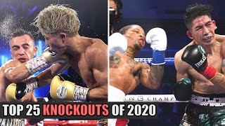 Boxing's Top 25 Knockouts Of 2020