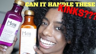 CAN IT HANDLE THESE KINKS!!! | MAUI MOISTURE