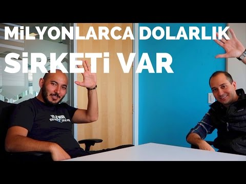 Tüm Malvarlığı Sırt Çantası Olan Türk Girişimci Aykut Karaalioğlu