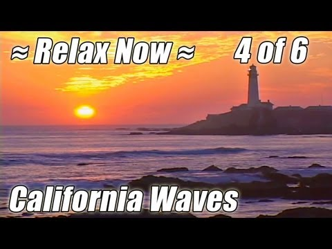 BIG SUR Point Lobos + Pigeon Pt. Lighthouse: #4 CALIFORNIA BEACHES ocean sounds sunset Carmel