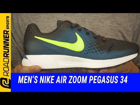 Men's Nike Air Zoom Pegasus 34 | Fit Expert Review - YouTube