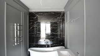 Ванная в спальне (Ванна из литьевого мрамора PAA Victoria)