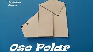 Origami - Papiroflexia. Oso Polar Muy Fácil.