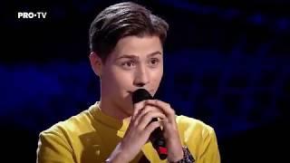 Valentin Poienariu - You Are So Beautiful LIVE | Auditii | Vocea Romaniei 2017