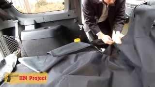 видео Защитные накидки на сиденья