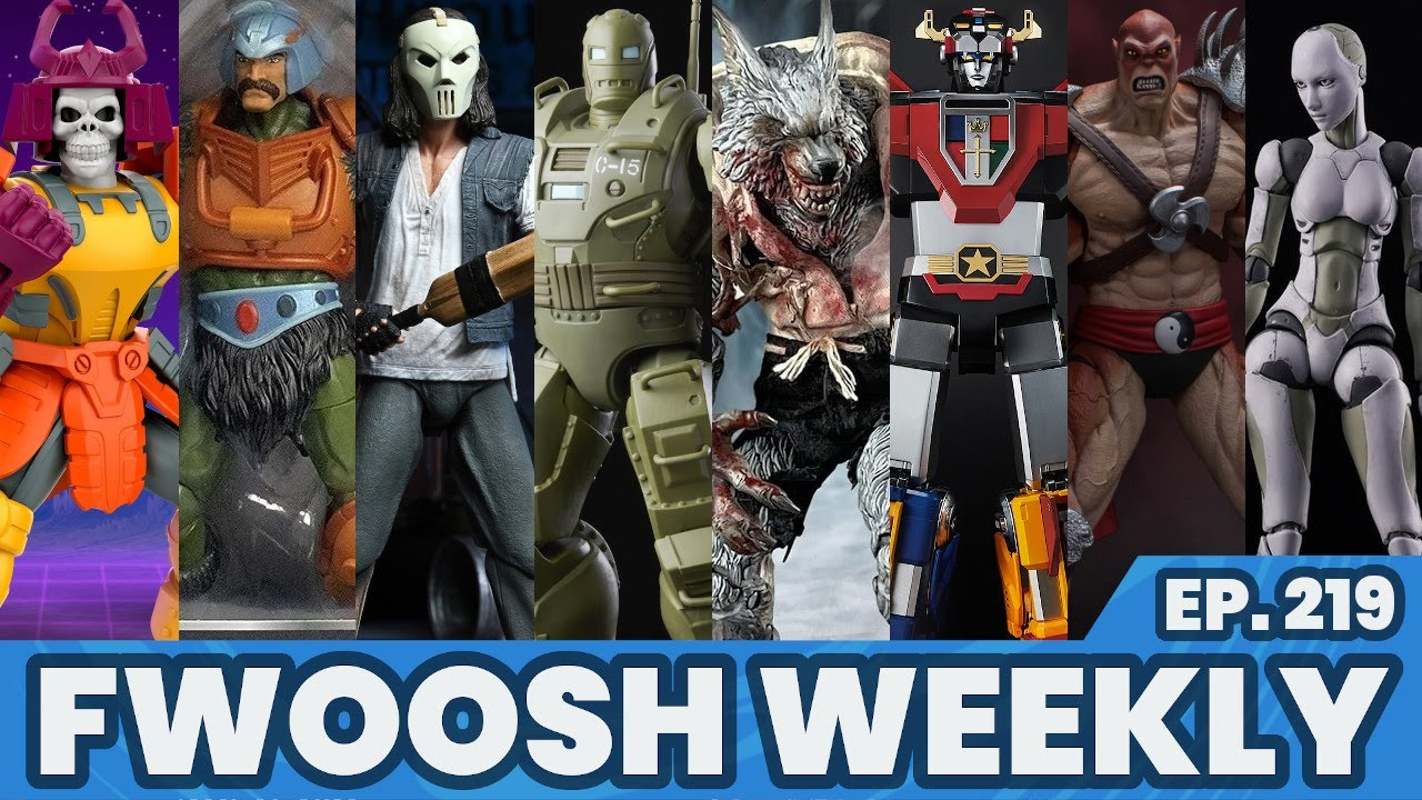 Weekly! Ep219: Marvel Legends, Fortnite, Ghostbusters, MOTU, DC, TMNT, Voltron, Transformers more!