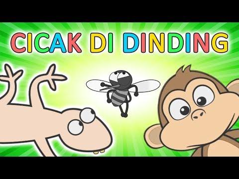 CICAK CICAK DI DINDING ♥ Lagu Anak Dan Balita Indonesia | Keira Charma Fun