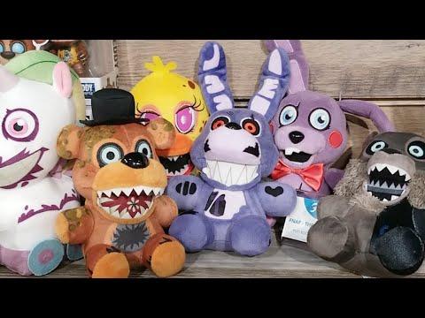 Five Nights At Freddy's Funko Fnaf Plush Twisted Ones Toyfair 2018