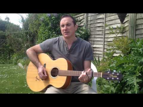 'One Step Up' by Bruce Springsteen performed by Mark Wright.
