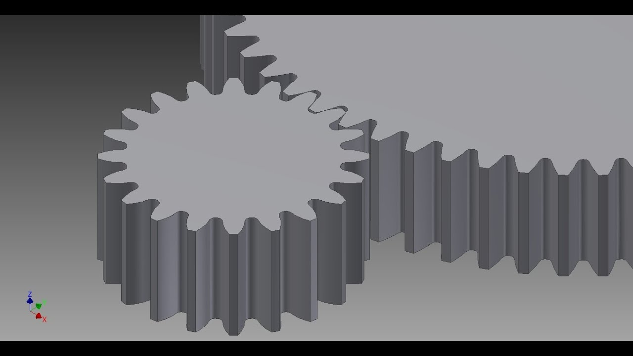 Autodesk inventor 2015 spur gear youtube ccuart Image collections