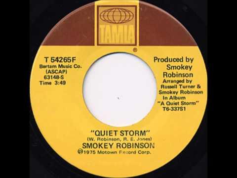"Smokey Robinson ""Quiet Storm"""