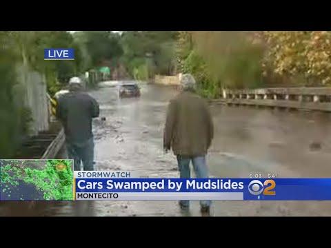 Mudslides, Flooding Shut Down Roads, Neighborhoods In Montecito