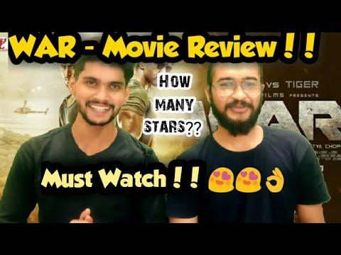 War Movie Review | WAR | Hrithik Roshan | Tiger Shroff | Vaani Kapoor | Siddharth Anand