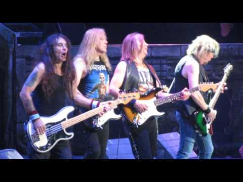 Iron Maiden - Hallowed Be Thy Name live @ LeSports Center, Beijing, China - 24th April 2016