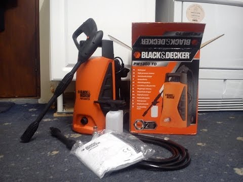 Black & Decker PW1300 TD Pressure Washer