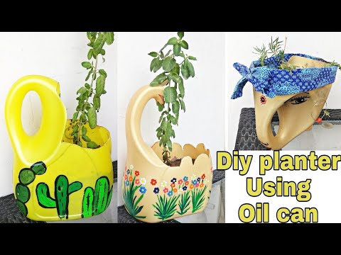 Diy garden decor with waste material / Cute and easy garden crafts / Diy planter with waste bottles