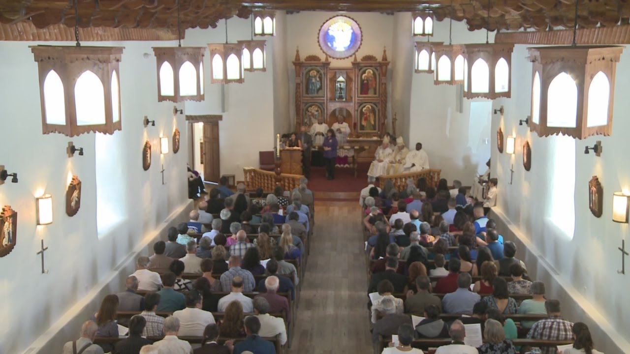 Questa Community Rededicates Reopens Historic Church