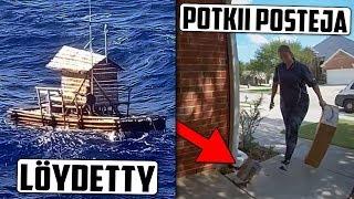 Poika kadoksissa merellä 49 päivää? Maailman huonoin postinjakelija!