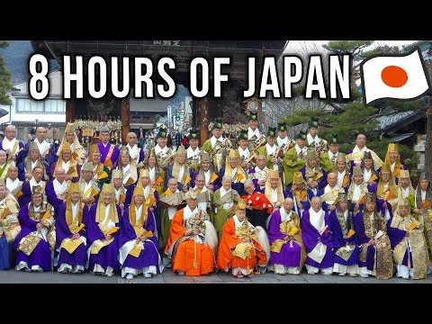 My Trip to Japan (8 hours of videos from Japan) 日本国 旅行 ビデオ Japan Travel Documentary 2018