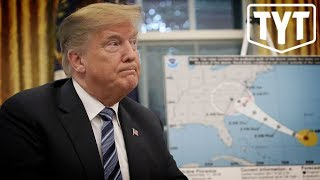 As Hurricanes Approach Trump Caught Taking Money From FEMA To Give To ICE