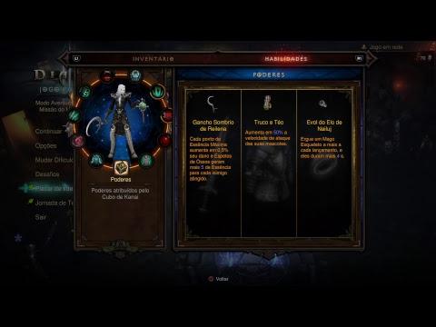 Diablo 3 - Necromancer [Rathma]-Solo - Fendas