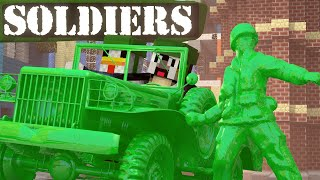 Minecraft | ARMY SOLDIERS MOD Showcase! (Clay Soldiers, Clay Animals, Army Men)